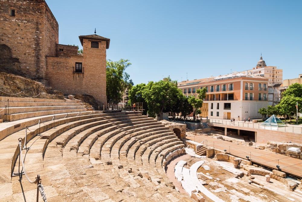 teatro romano in malaga